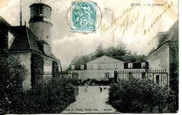N°31474 -cpa Héry -le Château- - Hery