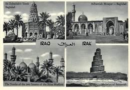 -cpsm -ref :T881- Iraq -carte Multivues   - Carte Bon Etat  - - Iraq