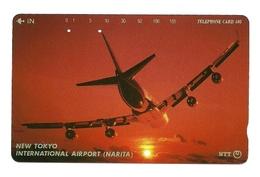 Giappone - Tessera Telefonica Da 105 Units T205 - NTT, - Avions