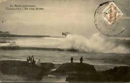 """MAROC ESPAGNOL - Carte Avec Timbre """"Maruecos Espanol"""" ... - Archive Pour Alger - Début 1900 -  P20912 - Spanish Morocco"""