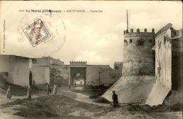 """MAROC ESPAGNOL - Carte Avec Timbre """"Maruecos Espanol"""" ... - Archive Pour Alger - Début 1900 -  P20913 - Spanish Morocco"""
