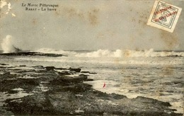 "MAROC ESPAGNOL - Carte Avec Timbre ""Maruecos Espanol"" ... - Archive Pour Alger - Début 1900 - Fatiguée - P20915 - Spanish Morocco"