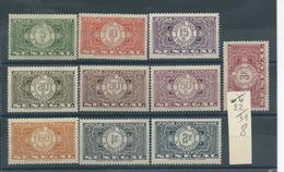 SENEGAL Taxe  N° 22:31 * T .B - Sénégal (1887-1944)