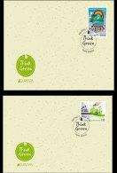 Liechtenstein 2016 First Day Cover Single Stamp - Europa 2016 - Think Green