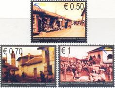 KOS 2010-181-3 KULTURE, KOSOVO, 1 X 3v, MNH - Kosovo