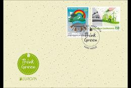 Liechtenstein 2016 First Day Cover - Europa 2016 - Think Green