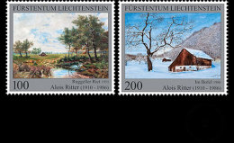 Liechtenstein 2016 Set CTO - Liechtenstein Painters - Alois Ritter