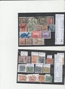 TIMBRES DE L ITALIE  Colonies Et Possessions > Erythrée Libiie Somalie St Marin  OBLITEREES NR  ANNEES  COTE 84€ - Erythrée