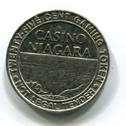 Casino Niagara Ontario Canada 25c Gaming Token - Casino