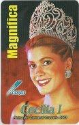 Bolivia - Cotas - Carnaval 2003 - Cecilia I. - 02.2003, 150.000ex, Inductive, Used