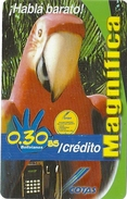Bolivia - Cotas - Parrot Bird - 12.2003, 200.000ex, Inductive, Used
