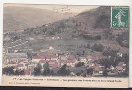 France Old Circulated Postcard - Cornimont - Vue Generales Des Grands- Meix Et De La Grand-Roche - Cornimont