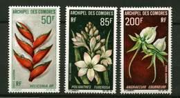 Comores* PA 26 à 28  -Fleurs - Comores (1950-1975)
