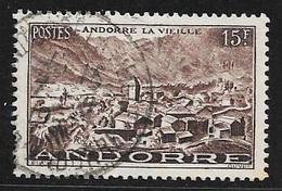 N° 132  ANDORRE FRANCAIS  -  OBLITERE -  1944/46