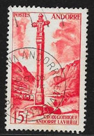 N° 146  ANDORRE FRANCAIS  -  OBLITERE -  1955/58