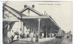 Cpa  -34-  Paulhan La Gare - Paulhan