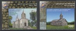 Armenia (Nagorno-Karabakh) 2013 Mih. 84/85 Churches MNH ** - Armenia
