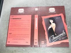 """Rare Film : """" L'immorale """" - Dramma"""