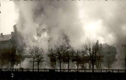 BELFORT - Carte Photo De L'incendie Des Galeries Modernes - Janvier 1940 - Très Bon étét - Rare - P20920 - Belfort - Ville