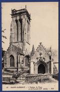 29 SAINT-HERBOT L'église, La Tour Et Le Portail XVe Siècle - Saint-Herbot