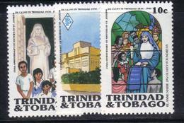 XP175 - TRINIDAD TOBAGO , Serie N. 538/540  ** MNH . - Trindad & Tobago (1962-...)