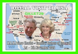 ROYAL FAMILY - H.R.H. PRINCE CHARLES & CAMILLA, DUCHESS OF CORNWALL IN 2005 VISIT TO USA - - Royal Families