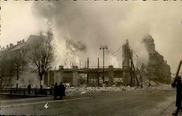 BELFORT - Carte Photo De L'incendie Des Galeries Modernes - Janvier 1940 - Très Bon étét - Rare - P20922 - Belfort - Ciudad
