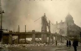 BELFORT - Carte Photo De L'incendie Des Galeries Modernes - Janvier 1940 - Très Bon étét - Rare - P20923 - Belfort - Ciudad
