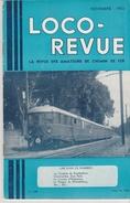 LOCO REVUE AURAY Train Wagon N°110 De 10/1952 VOIR Description Le Réseau Du DIETSCHIBERG Vers Lucerne & Automotrice D - Trains