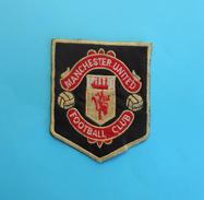 FC MANCHESTER UNITED Vintage Patch * England British Football Soccer Club Fussball Futbol Futebol Calcio Flicken Ecusson - Bekleidung, Souvenirs Und Sonstige