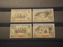 VIRGIN - 1981 DISABILI  4 VALORI - NUOVI(++) - British Virgin Islands