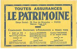 BUVARD ASSURANCES LE PATRIMOINE - Blotters