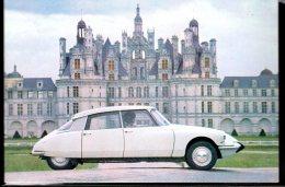 770 - Citroen DS 19 Chambord V.1966 - Carte Postale Originale Publicité USA - Original Dealer Advertising Postcard - Voitures De Tourisme