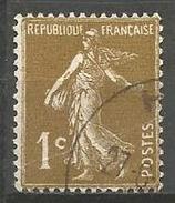 France - F1/287 - Type Semeuse Camée - N°277A Obl. - 1906-38 Sower - Cameo