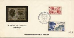 DOCUMENT  CHARLES DE GAULLE EXPOSITION PHILATELIQUE MOUILLERON EN PAREDS   8 5 1985      RARE - De Gaulle (General)