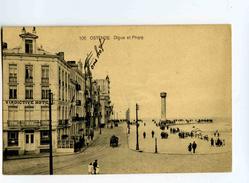C 19123  -  Ostende  -  Digue Et Phare - Oostende