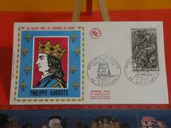 France > FDC > 1960-1969 > Philippe Auguste - 59 Bouvines - 10.11.1967- 1er Jour. Coté 2 € - FDC