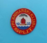 PK SPLIT - Croatian Mountaineering Club Embroidered Patch Climbing Alpinisme Bergsteigen Alpinismo Arrampicata Klettern - Sports