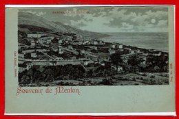 06 - MENTON  -- Souvenir - Menton
