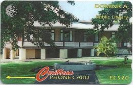 Dominica - Public Library - 119CDMC - 1996, 20.000ex, Used