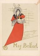 186 H.de TOULOUSE-LAUTREC-AFFICHE POUR MAY BELFORT-POSTER FOR MAY BELFORT- - Pittura & Quadri