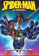 Lot De 3 BD Spiderman, Les Aventures (1, 2, 3): Un Lézard Diabolique, La Menace Du Dr Octopus, Le Retour Du Bouffon Vert - Spiderman
