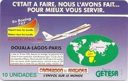 Equatorial Guinea - GETESA - Cameroon Airlines Aircraft - SC7, 10U, Used