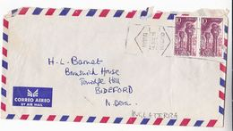 1975 Air Mail SPAIN COVER Stamps MONASTERY Of San Juan De La Pena Church Religion Christianity - 1931-Hoy: 2ª República - ... Juan Carlos I