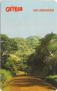 Equatorial Guinea - GETESA - Country Landscape - (SN. 00076347) SC7, 100U, Used