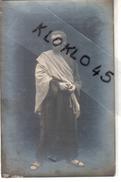 CARTE PHOTO - Apôtre  Debout Avec Sa Robe Et Son écharpe Claire - Homme En Sandales Barbu - - Angeles
