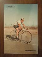 BRUNO SIVILOTTI  GHIGI Pasta Di Lusso  -  Cartolina Viaggiata UFFICIO POSTALE P. T. MOBILE N. 1 * 1. VI. 1961 - Ciclismo