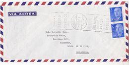 1976 Air Mail  Andraitx SPAIN COVER Stamps SLOGAN Pmk GIRO POSTAL RAPIDO SECURO Post Giro - 1931-Hoy: 2ª República - ... Juan Carlos I