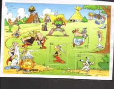 BRD 2015 Block 80 Asterix Bedarfsgebraucht Gestempelt Auf Briefstück - BRD