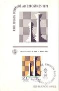 ARGENTINA FDC  BUENOS AIRES  MAXIMUN  1978 (GEN170010) - Giochi Olimpici